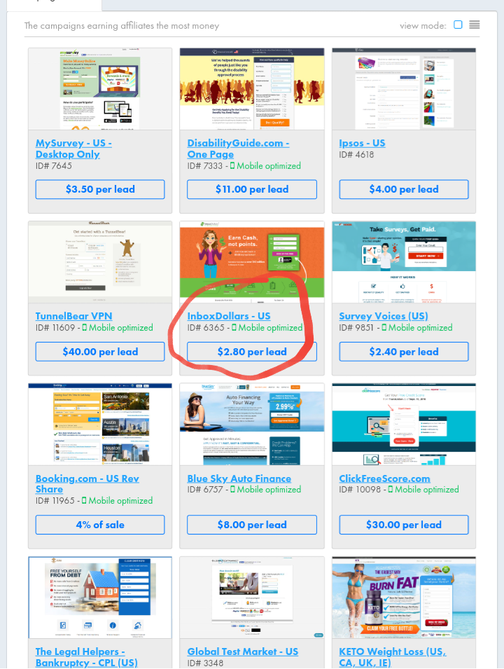 10 Most Profitable Top Affiliate Marketing Programs in 2019