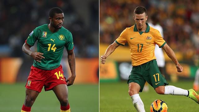 Camerun vs Australia en vivo