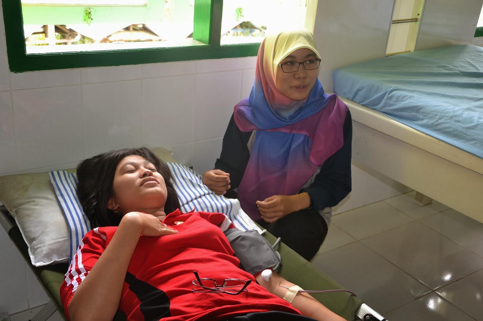 Mengapa utk donor darah berat badan minimal 45 kg