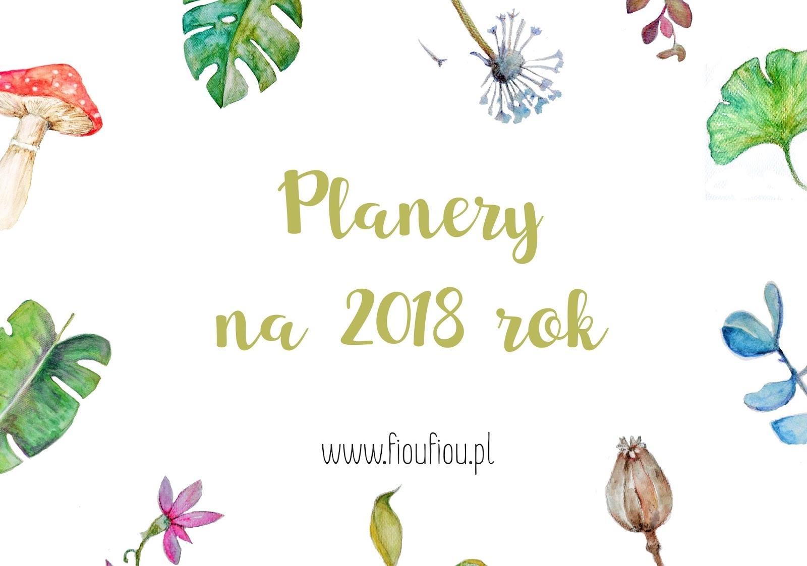 PLANERY NA 2018 ROK