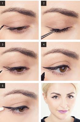 Cara Membuat Mata Sipit Dengan Eyeliner