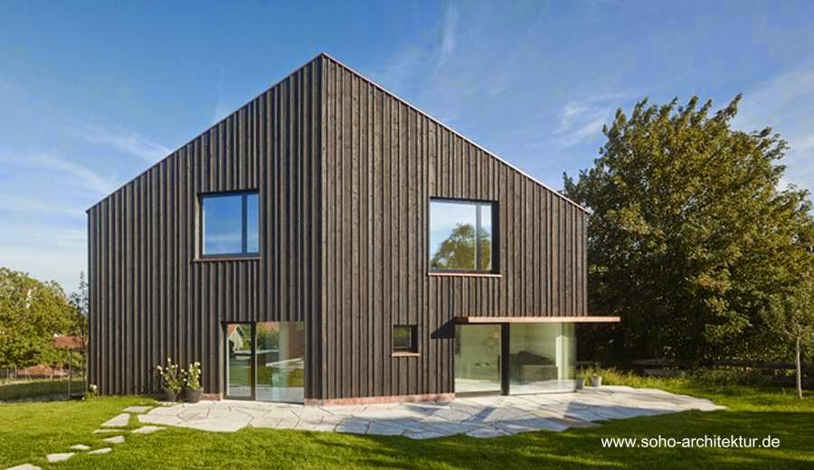 Casa residencial contemporánea de techos inclinados en Landsberg, Alemania