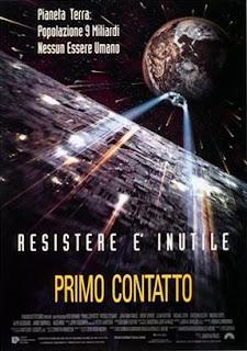 La locandina del film Star Trek Primo Contatto - TG TREK: Notizie, Novità, News da Star Trek