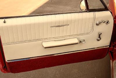1965 Pontiac Bonneville Convertible Interior Door Left