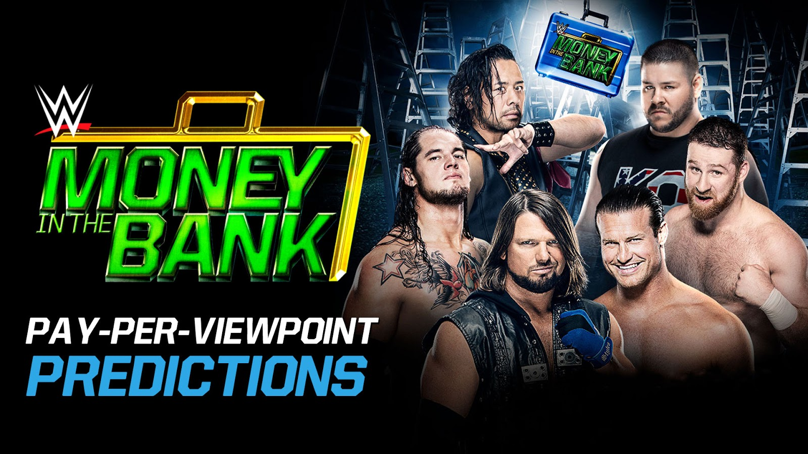WWE MONEY IN THE BANK 2017 spoilers podcast