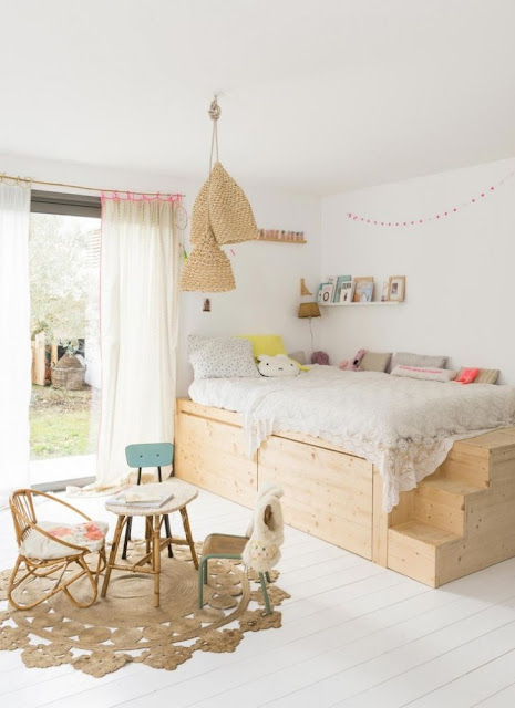 غرف نوم بسيطة