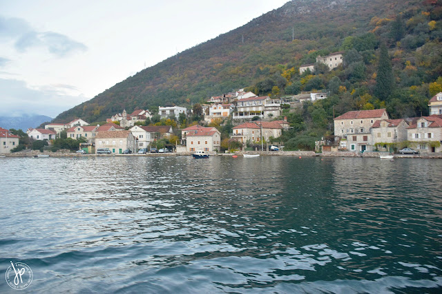 View from Kotor Bay Ferry