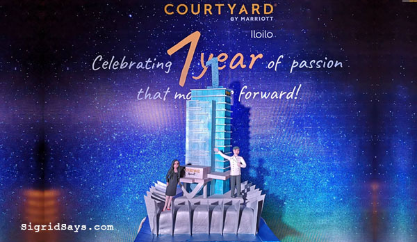 Courtyard by Marriott Iloilo hotel promo - Iloilo hotels - Iloilo restaurants - Philippines - Bacolod blogger - Iloilo City - family travel - Iloilo Staycation - Courtyard by Marriott buffet - Courtyard by Marriott Iloilo promo - Courtyard by Marriott Iloilo rates - anniversary cake