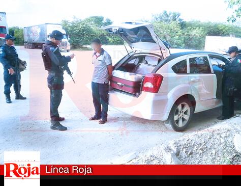 Federales aseguran 100 kilos de droga en la terminal marítima de 'Punta Venado', en Playa del Carmen