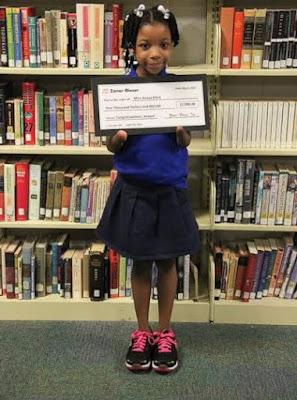 the amazing Anaya Ellick who won a handwriting competition despite having no hands