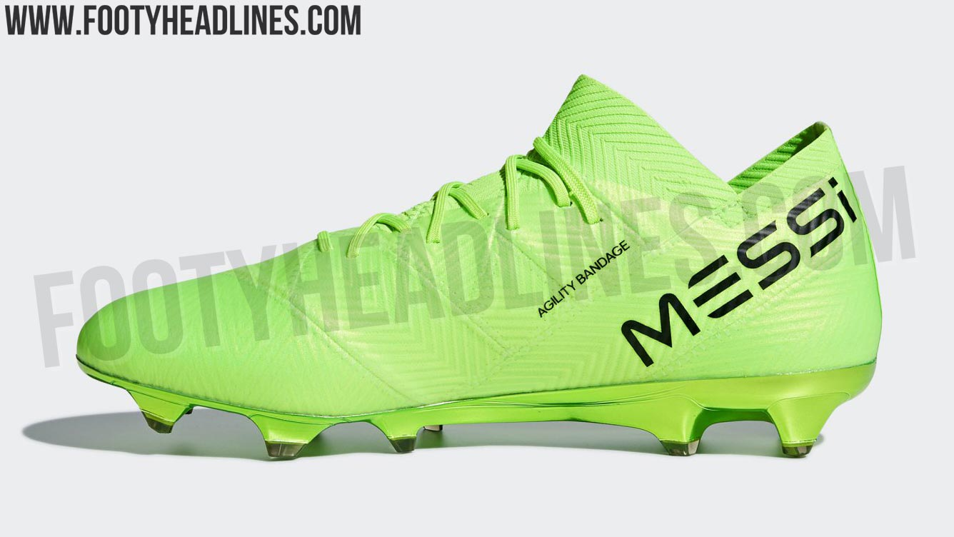 super popular 8a042 2a3f3 Theres also a Messi-exclusive edition of the next-gen Adidas Nemeziz  cleats. Unlike before, the Adidas Nemeziz 18 boots are only available with  a ...