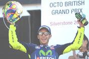MotoGP Inggris 2017, Rossi Penuhi Target Naik Podium