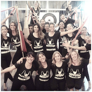 Columpio, yoga, pilates, hamaca, trapeze, swing, suspension, acro