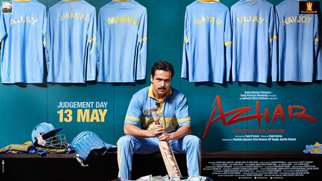 Azhar (2016), Movie Poster