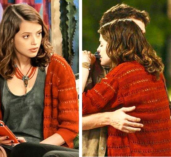 Figurino, Camila (Agatha Moreira) Haja Coração, kimono de crochê (casaco)