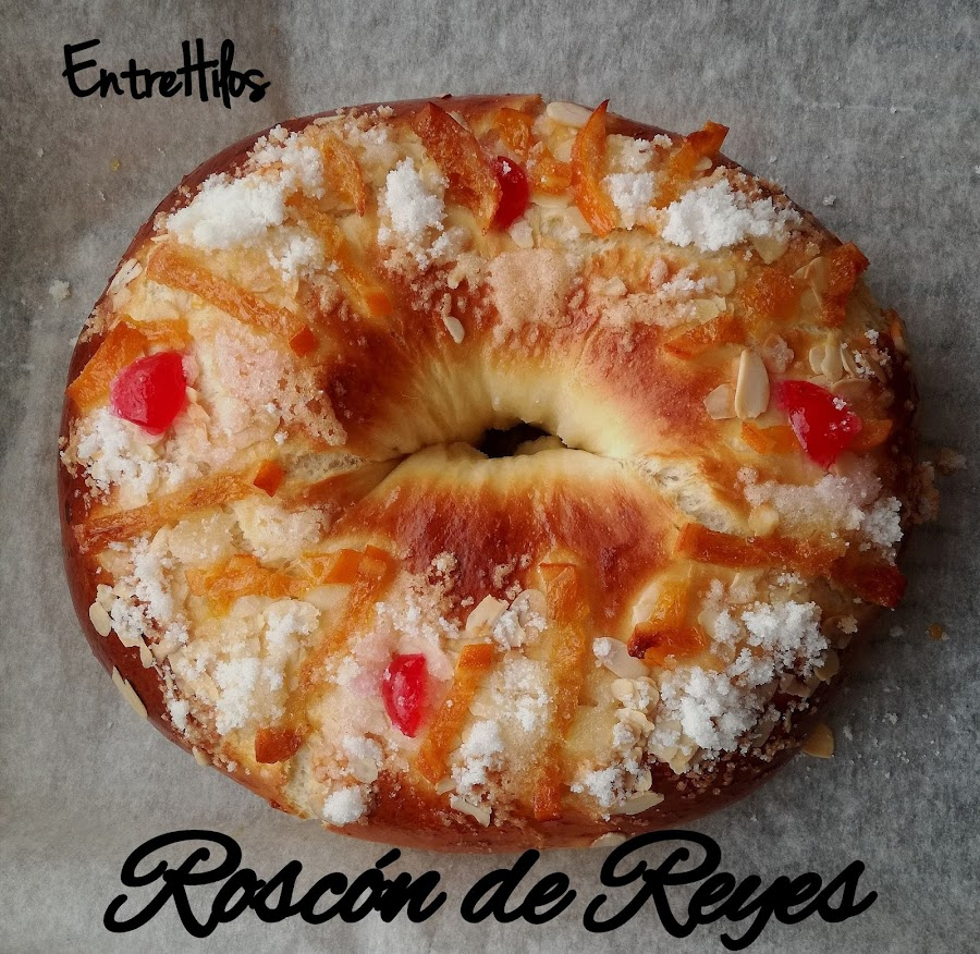 Roscon de reyes 2017