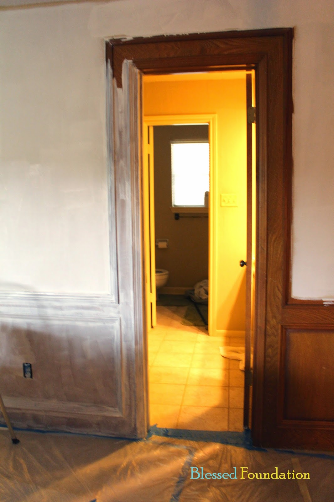 Blessed Foundation Post 23 Wainscoting