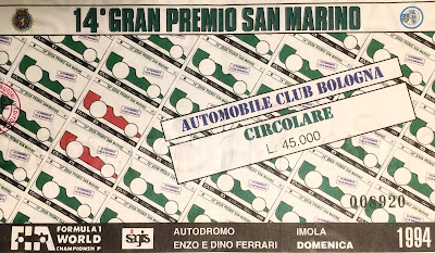 Gran premio imola 1 maggio 1994
