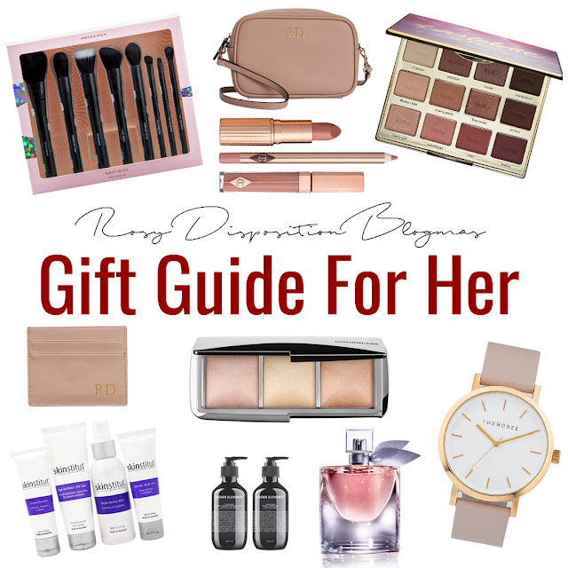 #Blogmas Day 3: Gift Guide For Her Rosy Disposition Female Woman Girl Gift Christmas