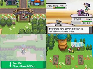Pokemon Light platinum NDS ROM Download