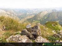 Buzón de cima del Pico Pondio en Ponga