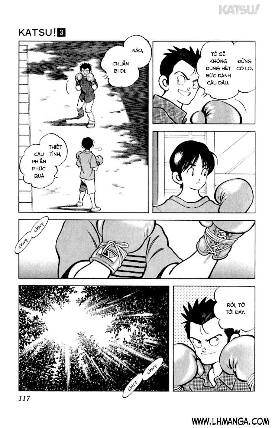 Katsu! chương 025: chuẩn bị đi! trang 7