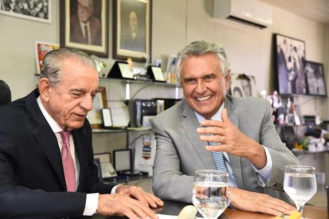 Caiado e Iris defendem parcerias entre Prefeitura e Estado