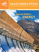 DLR Nachrichten's 'Special Edition: Energy Research'