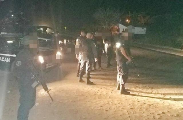 Ejecutan a subdirector de Seguridad Pública y a 3 policías en Michoacan