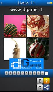 PACCHETTO 6 Soluzioni Trova la Parola - Foto Quiz con Immagini e Parole livello 11