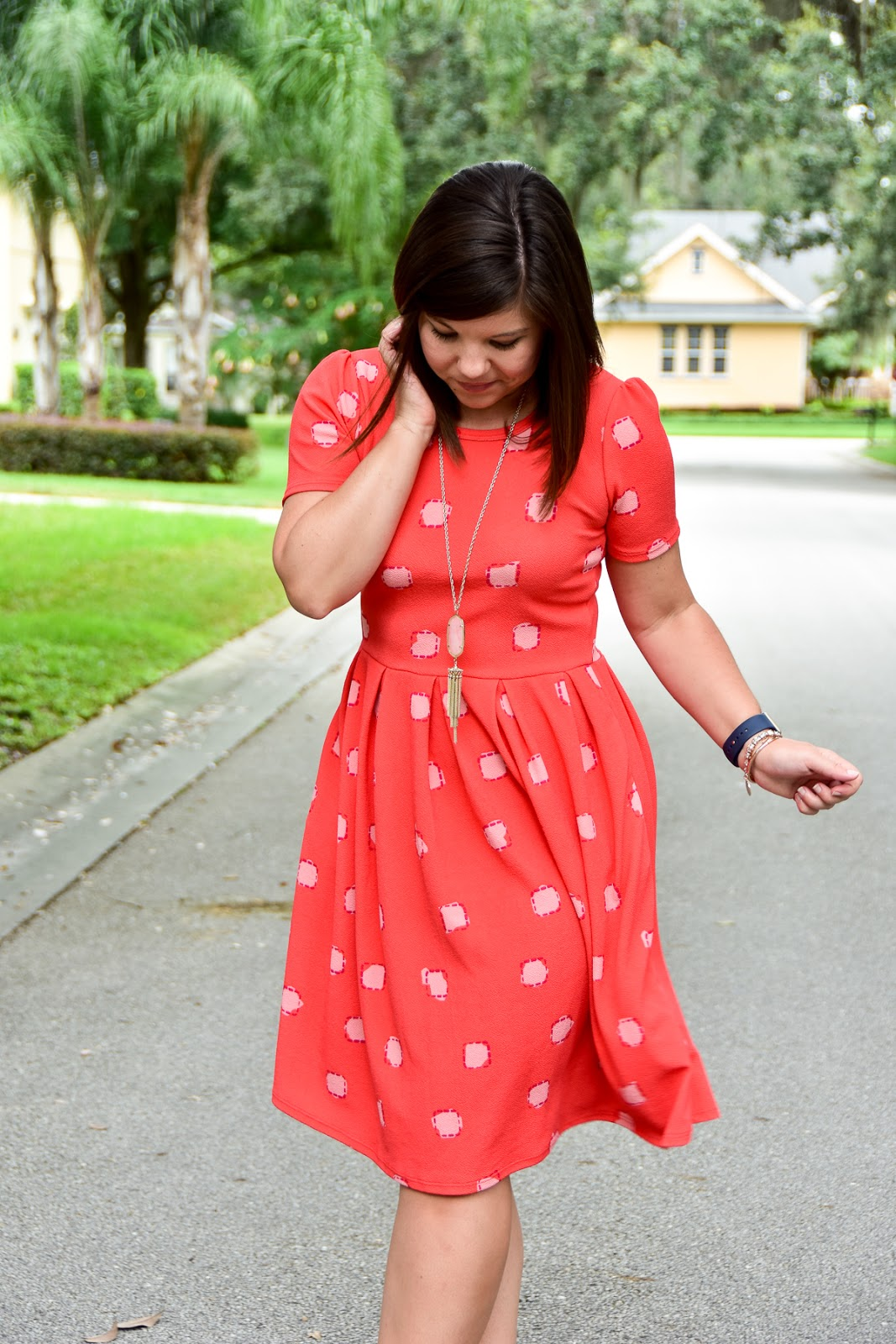 Workweek Chic Lularoe Amelia Dress Girl Meets Bow