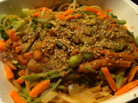 Monk Island Amy S Chinese Noodles Veggies