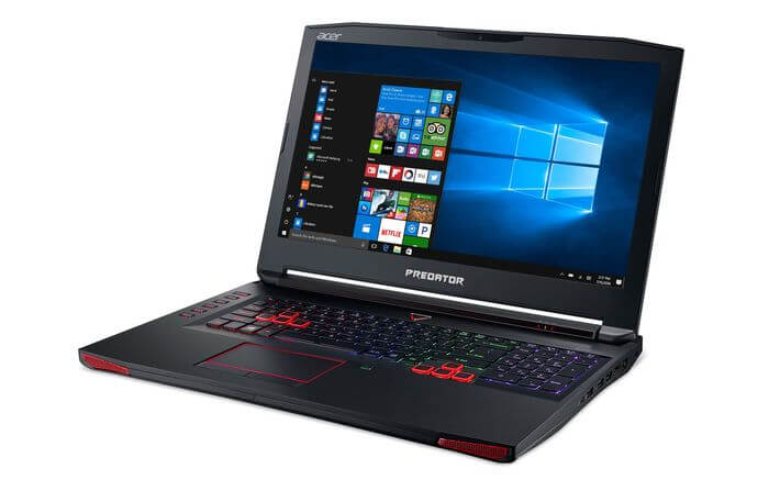 Review Acer Predator 17 gaming laptop with Nvidia GeForce GTX 1070