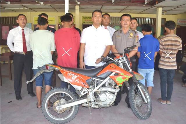 Polres Nias Bekuk Remaja Pelaku Pencurian Sepeda Motor