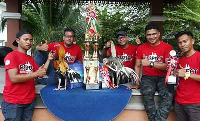 Pemenang Kontes Ayam Ratu