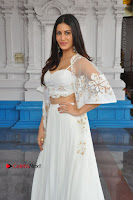 Telugu Actress Amyra Dastur Stills in White Skirt and Blouse at Anandi Indira Production LLP Production no 1 Opening  0101.JPG