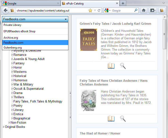 Review: EPUBReader for Mozilla Firefox