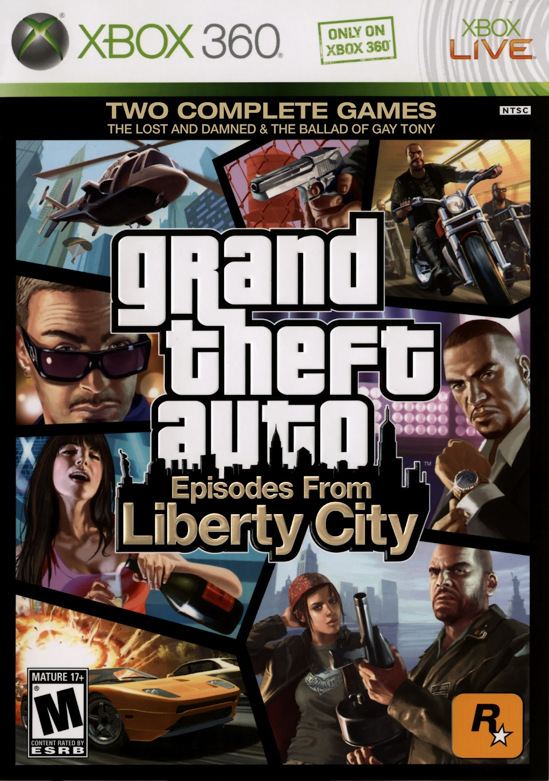 Venom Games Grand Theft Auto IV Episodes From Liberty City