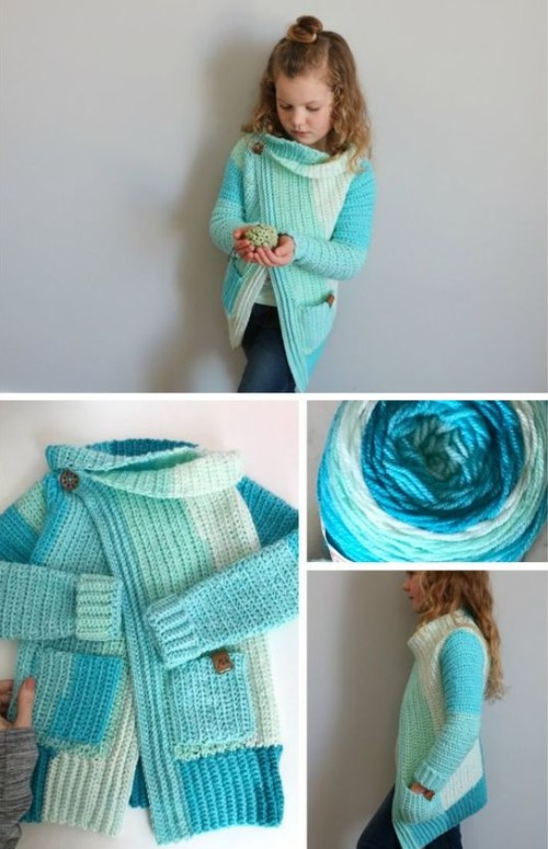 Piece of Cake Cardi - Free Pattern + Video
