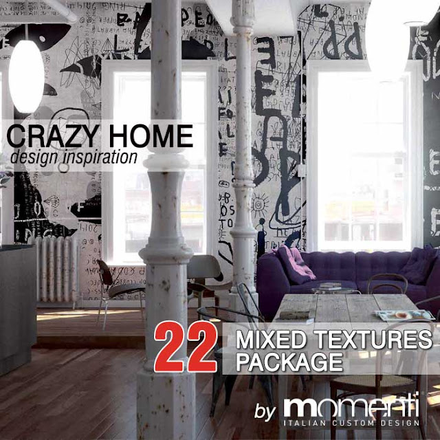 CRAZY HOME by MOMENTI textures pack