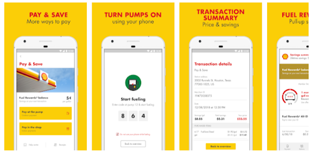 Shell US Mobile App - best way to pay and save @ Shell