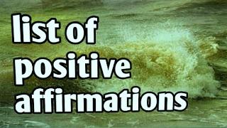 list-of-positive-affirmation