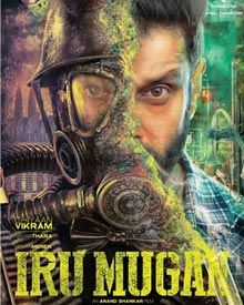 Vikram, Nayantara New Upcoming, tamil movie Iru Mugan release 2016 Poster, star cast