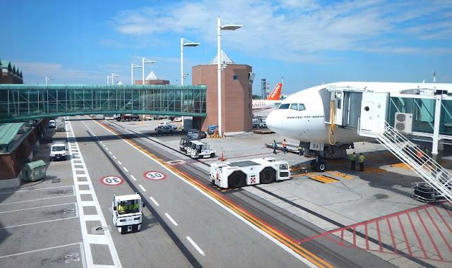 Aluguel de carro no aeroporto de Veneza