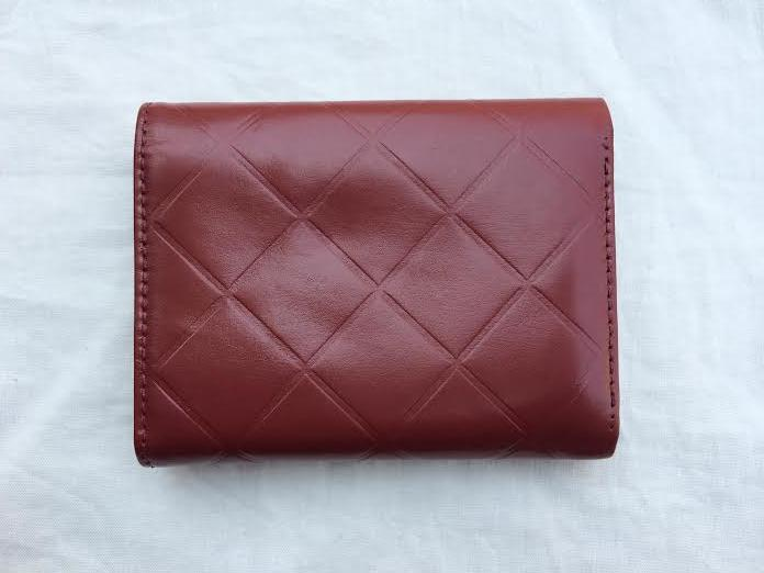 3dfd462b3cd72f Truly Vintage: Authentic Chanel Quilted Red Lambskin Bi- Fold Wallet