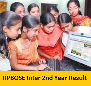 HPBOSE Inter 2nd Year Result 2017