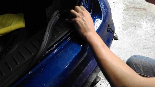 【生活分享】五股金讚汽車 Golden Top - 不愉快的烤漆經驗 (續篇) - 倒車雷達故障,真的撞到到底是要算誰的