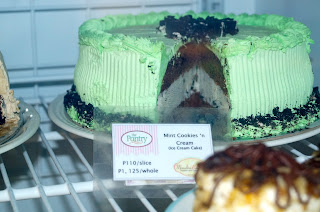 Ice Cream Cake at the Pantry Cebu