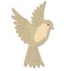 Sizzix Thinlits Die Set 3PK - Natural Bird