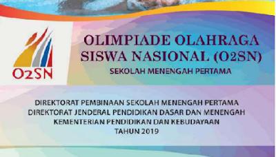 SN SMP yg dikembangkan oleh Direktorat Pembinaan SMP JUKLAK JUKNIS O2SN SMP TAHUN 2019